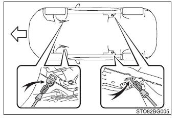 Toyota CH-R. Steps to take in an emergency