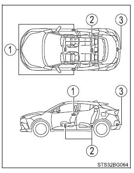 Toyota CH-R. Opening, closing and locking the doors