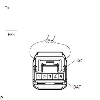 Toyota CH-R Service Manual - Steering Angle Sensor Power Source