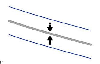 Toyota CH-R Service Manual - Installation - Rear Wiper Rubber
