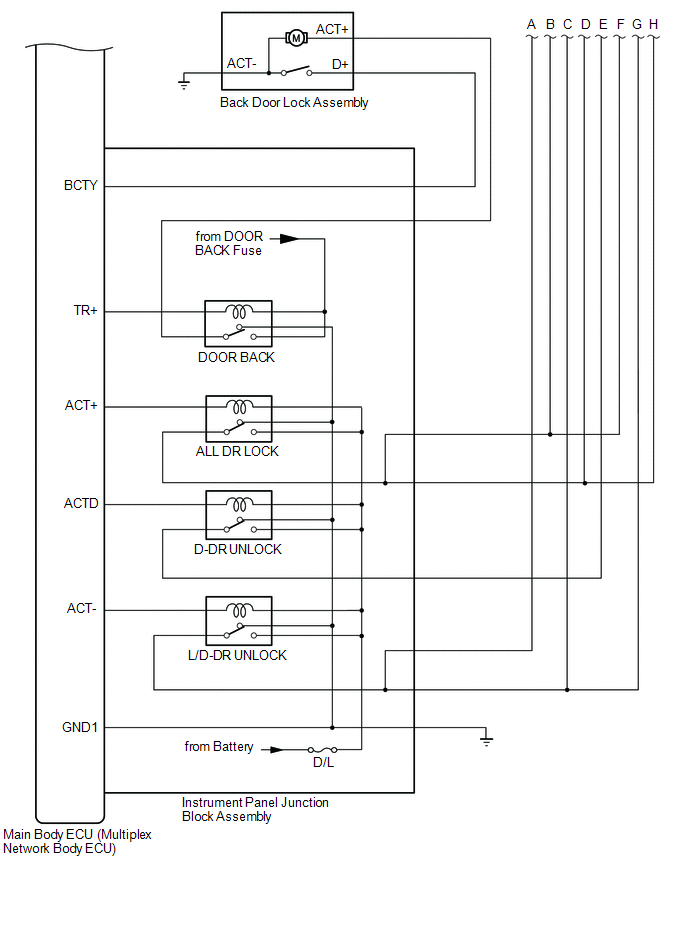 toyota ch-r service manual - system diagram - smart key system(for entry  function)  toyota ch-r owners manual